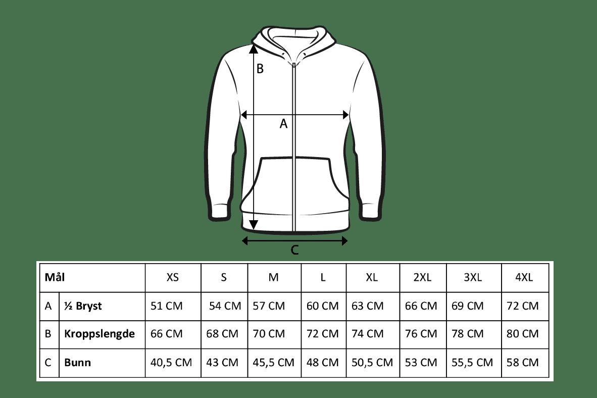 Premium zip hood