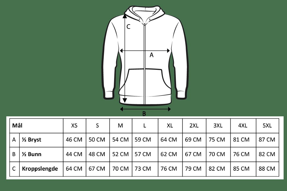 Basic zip hood